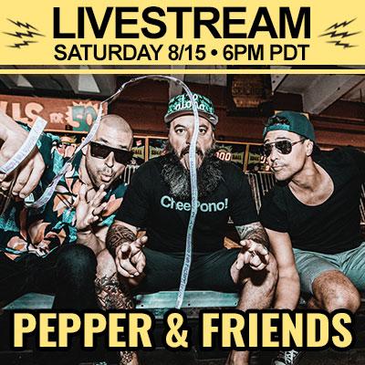 Pepper Livestream